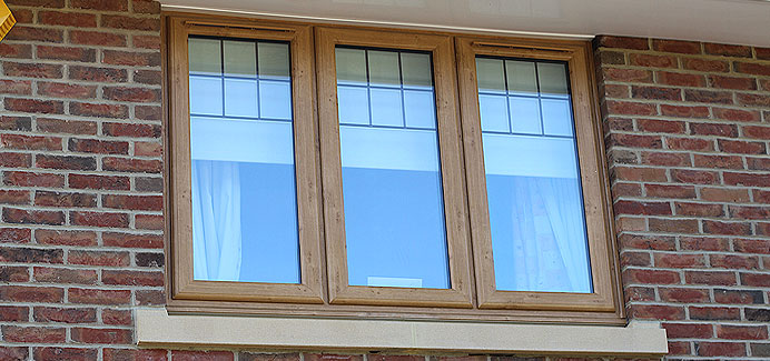 Irish Oak casement Windows